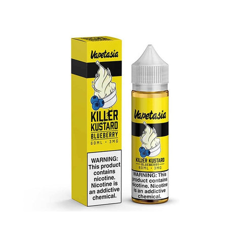 VAPETASIA Killer Kustard Blueberry