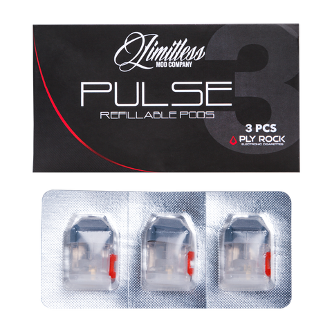 LIMITLESS PULSE REPLACEMENT POD - 3 PACK