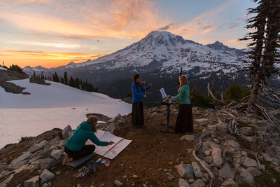 Art in the Mountains with Mitch Pittman and the Musical Mountaineers