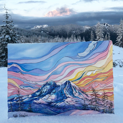 Fall Watercolor Workshop: Painting the Peaks, North Cascades Institute, Sept 14-16