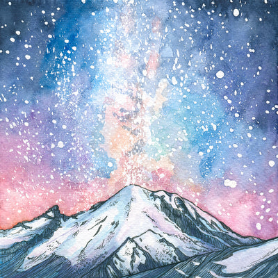 Winter Watercolor: Painting the Peaks, North Cascades Institute, March 2-4