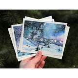 Set of 5 Winter in the PNW Cards