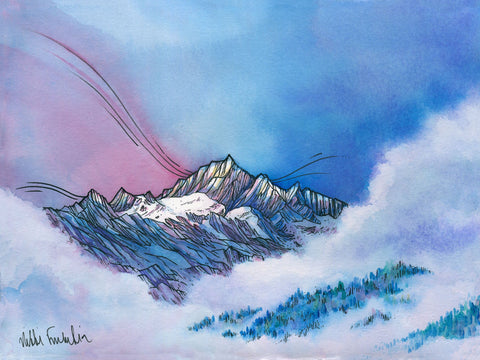 Morning in the North Cascades Card