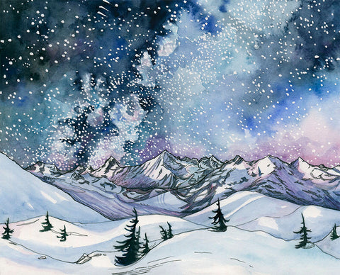 Winter in the North Cascades Card