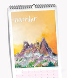 2021 Drawn to High Places Calendar