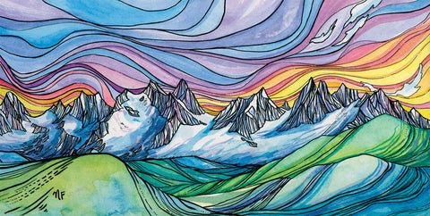 Picket Range North Cascades Cards