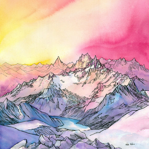 Painting the PNW: Alpenglow Workshop, October 14