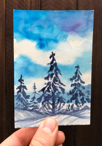 Crystal Mountain Trees