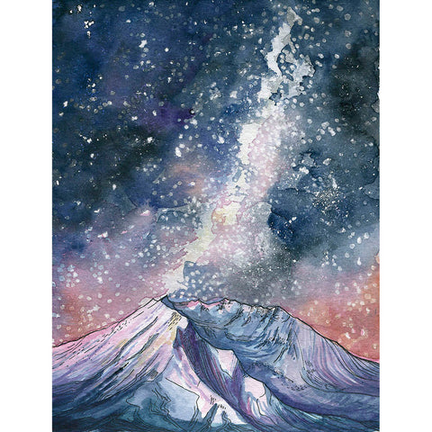 Mount Saint Helens Card