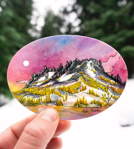 Enchantments Larches Sticker