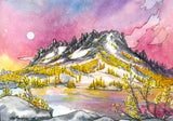 Enchantments Larches Card