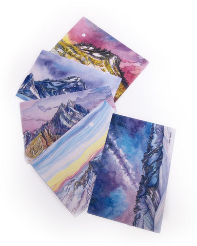 Set of Five Art Postcards