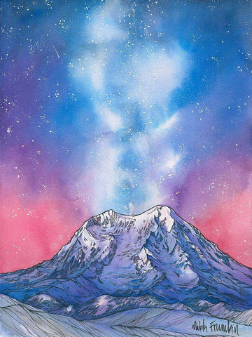 Rainier by Starry Night Card
