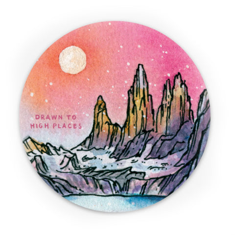 Torres del Paine Sticker