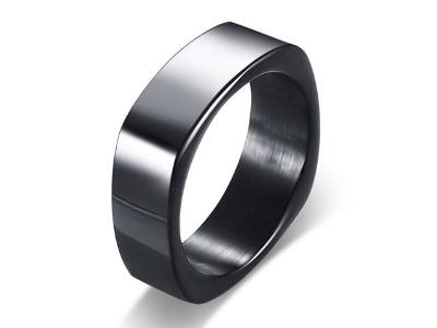 Engraved Ring - Square Shape