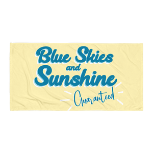 Sunshine Beach Towel