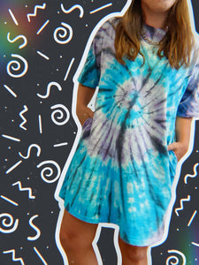 Tie Dye For T-Shirt Dress