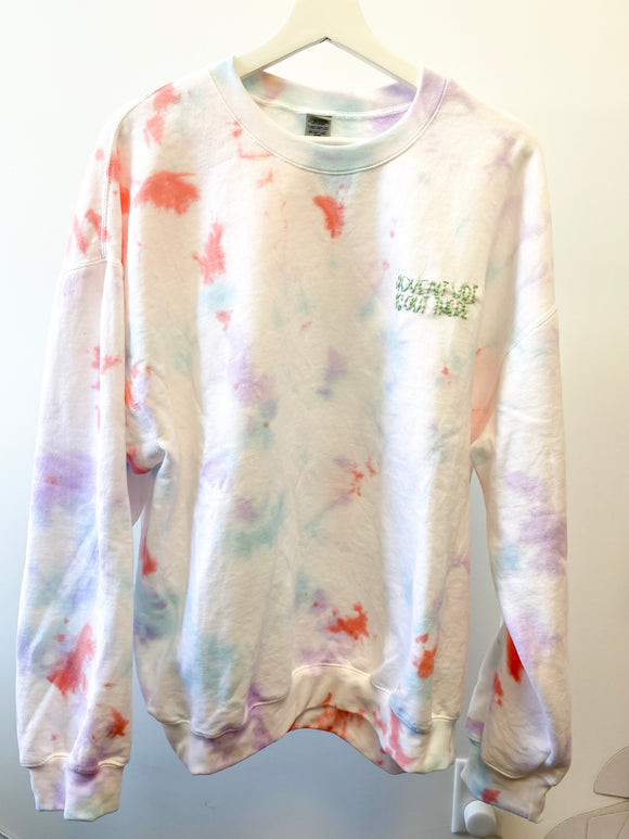 Adventure Tie Dye Sweatshirt