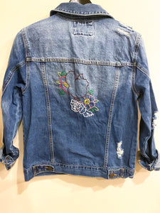Forever Stitched Denim Jacket