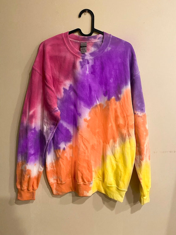 West Coast Tie Dye Sweatshirt