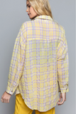 violet lemonade plaid