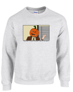 Pumpkin Dwight Crewneck