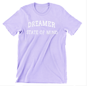 Dreamer State Of Mind Tee - Purple