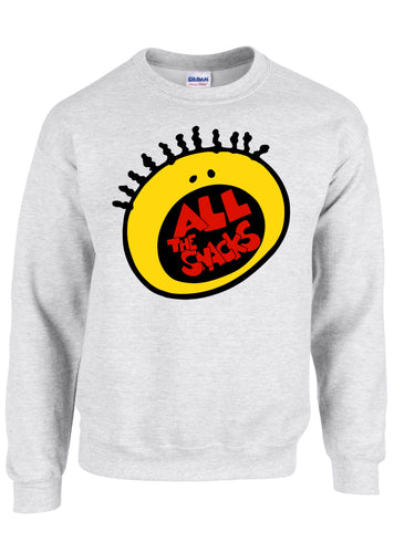 All The Snacks Crewneck