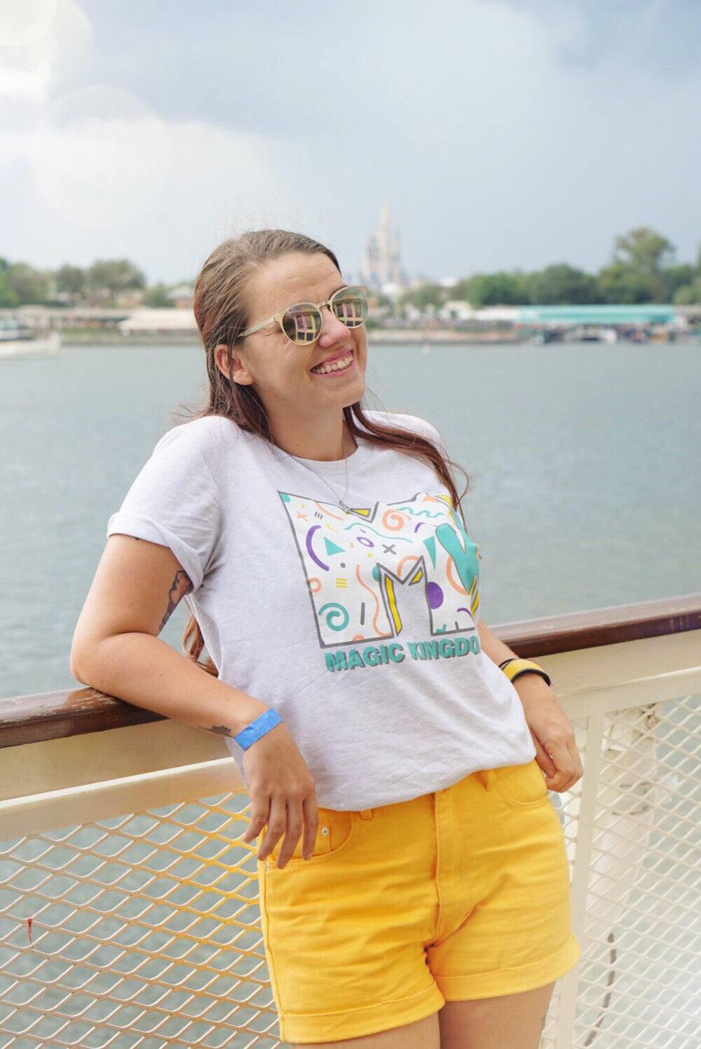 Magic Kingdom 90's Tee