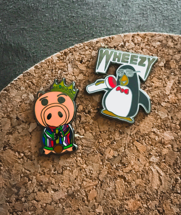 Toy Icon pin set