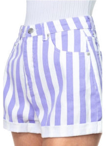 Candy Striped Shorts