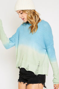 Dinglehopper Distressed Sweater