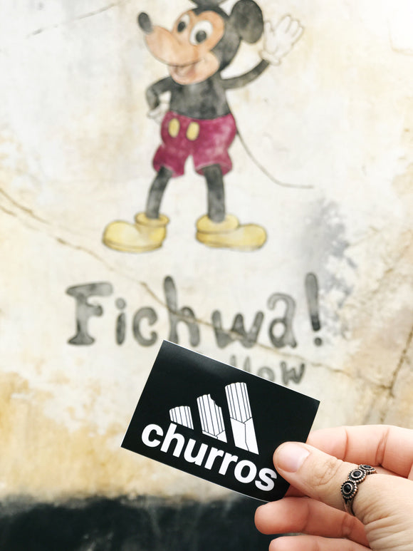 Churro Logo Sticker