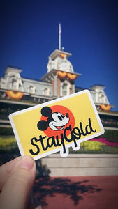 Stay GOLD sticker