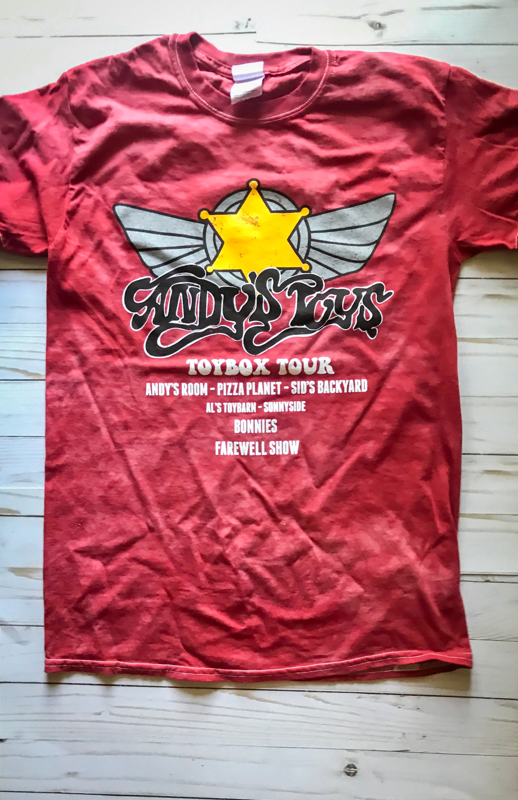 Andy's Toys Tour Tee