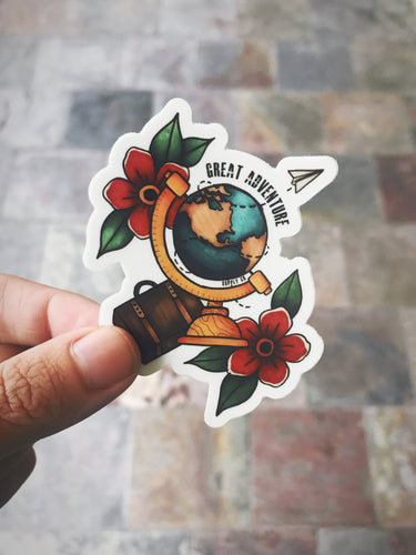 Great Adventure Sticker