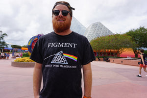 Figment Band Tee crew neck