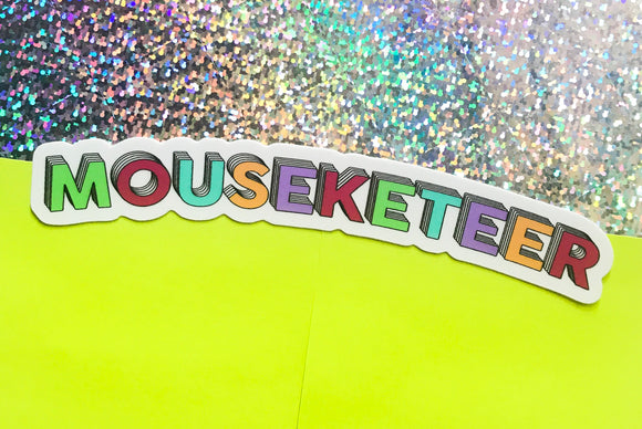 Mouseketeer Sticker