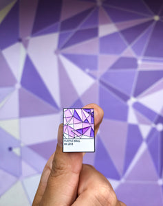 New Purple Wall Magictone Pin