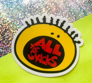 All the Snacks Sticker