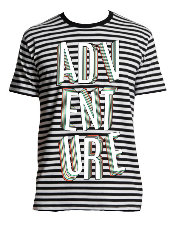 Adventure Stripe Tee