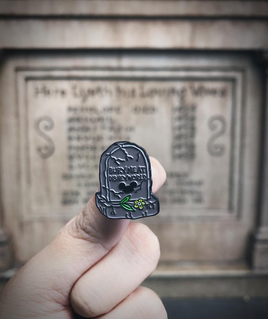 Tombstone Pin