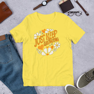 Just Keep Growing Tee