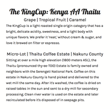 The KingCup - Kenya AA Micro-Lot