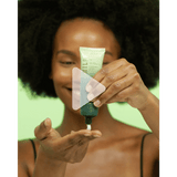 Demonstration video for: Green Goddess Sleeping Mask + Primer