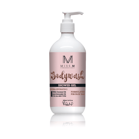 Coconut and Vanilla Body Wash by Miss M - Bang Hair & Beauty