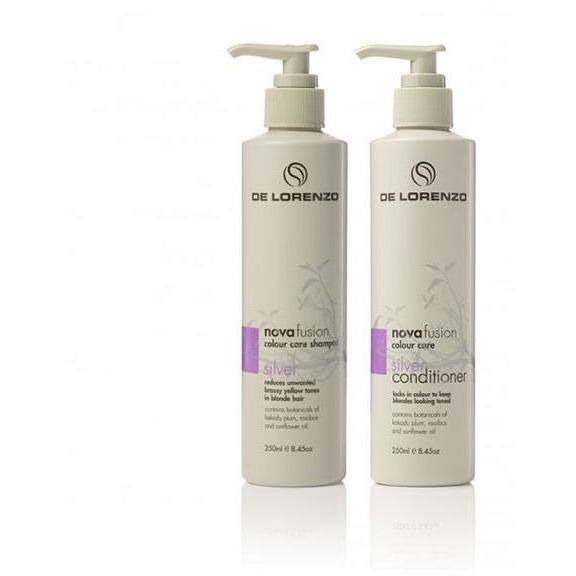 Novafusion Silver blonde shampoo and conditioner duo 250ml