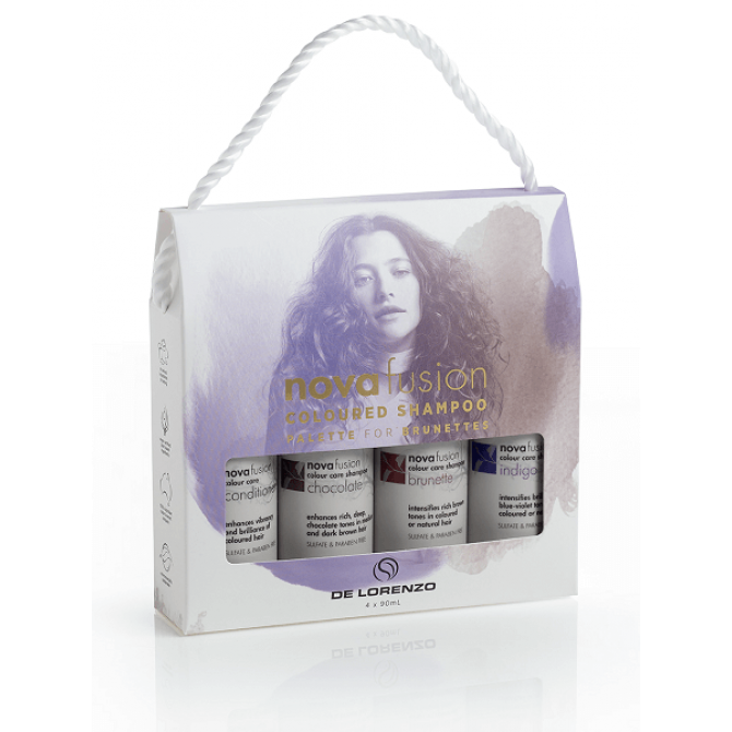 DeLorenzo Novafusion Brunette Trial Pack