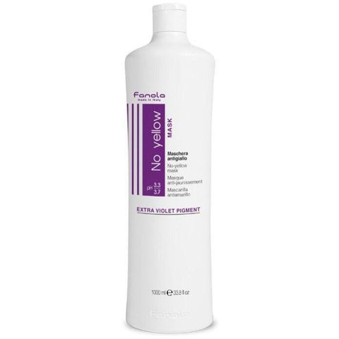 Fanola no yellow mask 1ltr - Bang Hair & Beauty