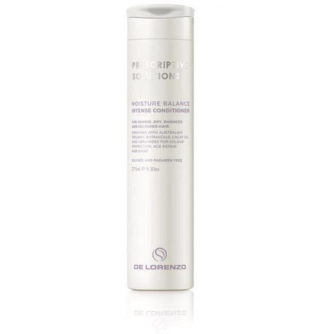 De Lorenzo Prescriptive Solutions Moisture Balance Intense Conditioner 275ml - Bang Hair & Beauty